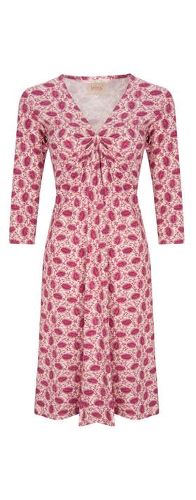 Avoca NEW - Plume Knot Dress Multi