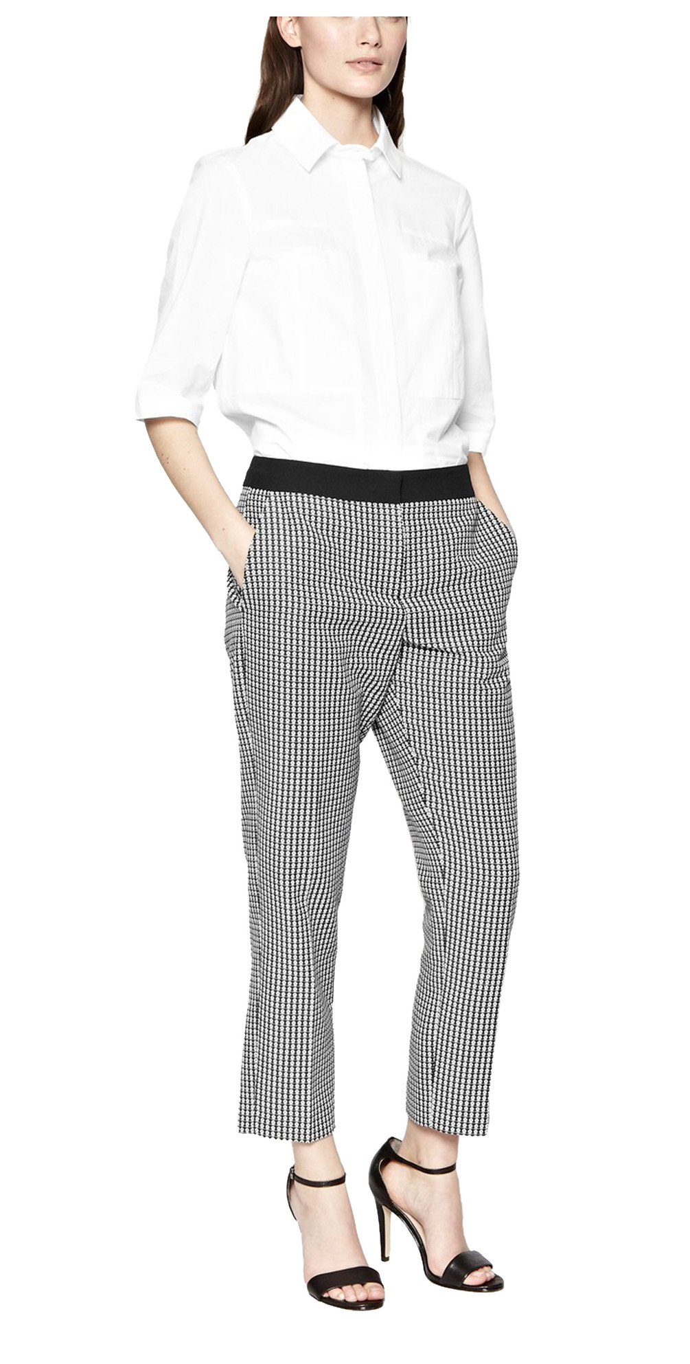 Jolie Jacquard Trousers main image