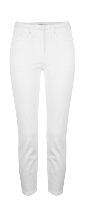 Sandwich Clothing Essentials Cropped Skinny Pants Optical White
