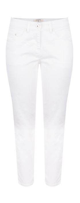 Sandwich Clothing Essentials 3QTR Skinny Pants Optical White
