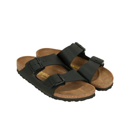 Birkenstock Matt Leather Sandal - Black