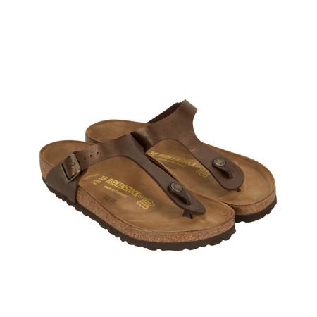 Birkenstock Toe Post Sandal - Brown