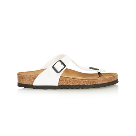 Birkenstock Toe Post Sandal - White