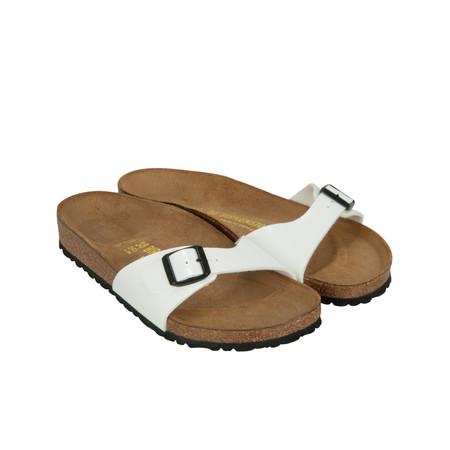 Birkenstock Single Strap Sandal - White
