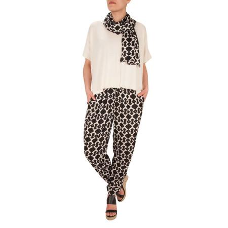 Masai Clothing Fausta Oversize Top - Off-white