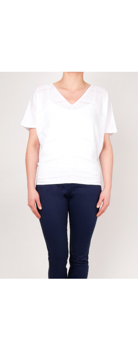 Sandwich Clothing Pure Cotton Pullover Optical White