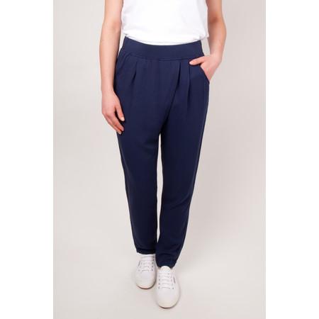 Sandwich Clothing Sienna Twill Pants - Blue