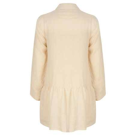 Myrine Canelle Italian Linen Jacket - Pink