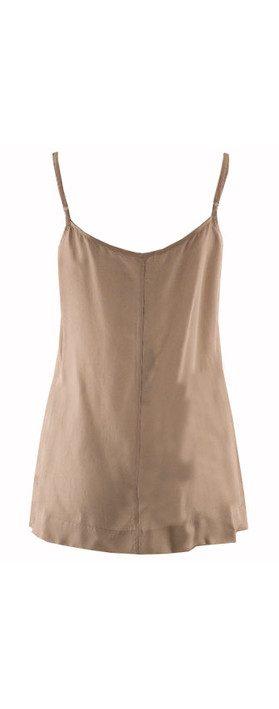 Sandwich Clothing Shiny Top Biscuit