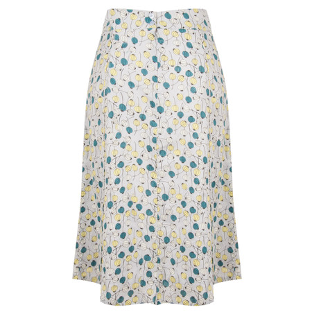 Adini Juniper Print Ibuki Skirt - Metallic