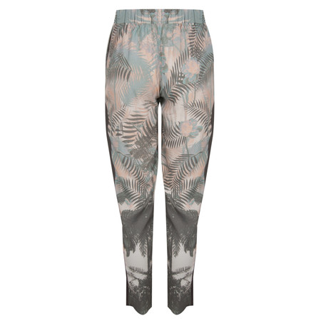 Coster Copenhagen Palm Printed Pants - Green