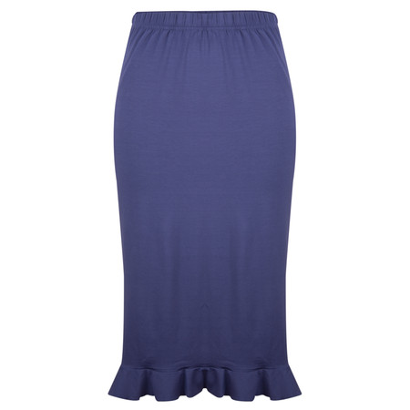 Masai Clothing Sammy Fitted Skirt - Blue