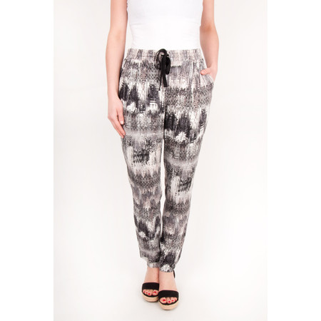 Sandwich Clothing Sienna Mixed Ikat Pants - Beige
