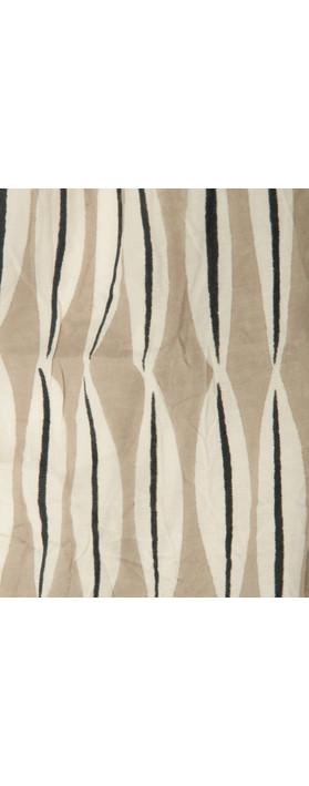 Masai Clothing Leaf Print Along Scarf Khaki Print