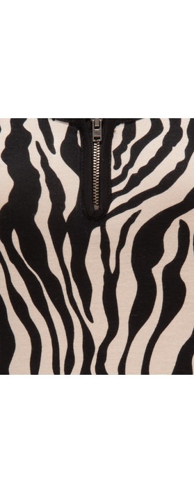 Masai Clothing Gertie Tunic Khaki Print