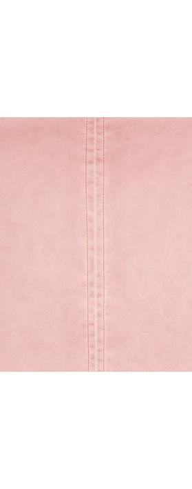 Sandwich Clothing Vintage Faux Leather Skirt Nostalgic Rose