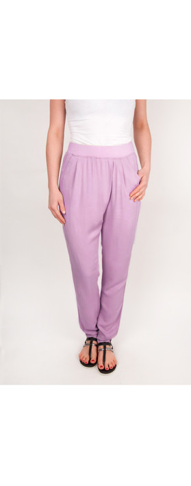 Sandwich Clothing Sienna Twill Pants Soft Lilac