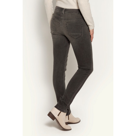 Sandwich Clothing Skinny Denim Pants - Grey