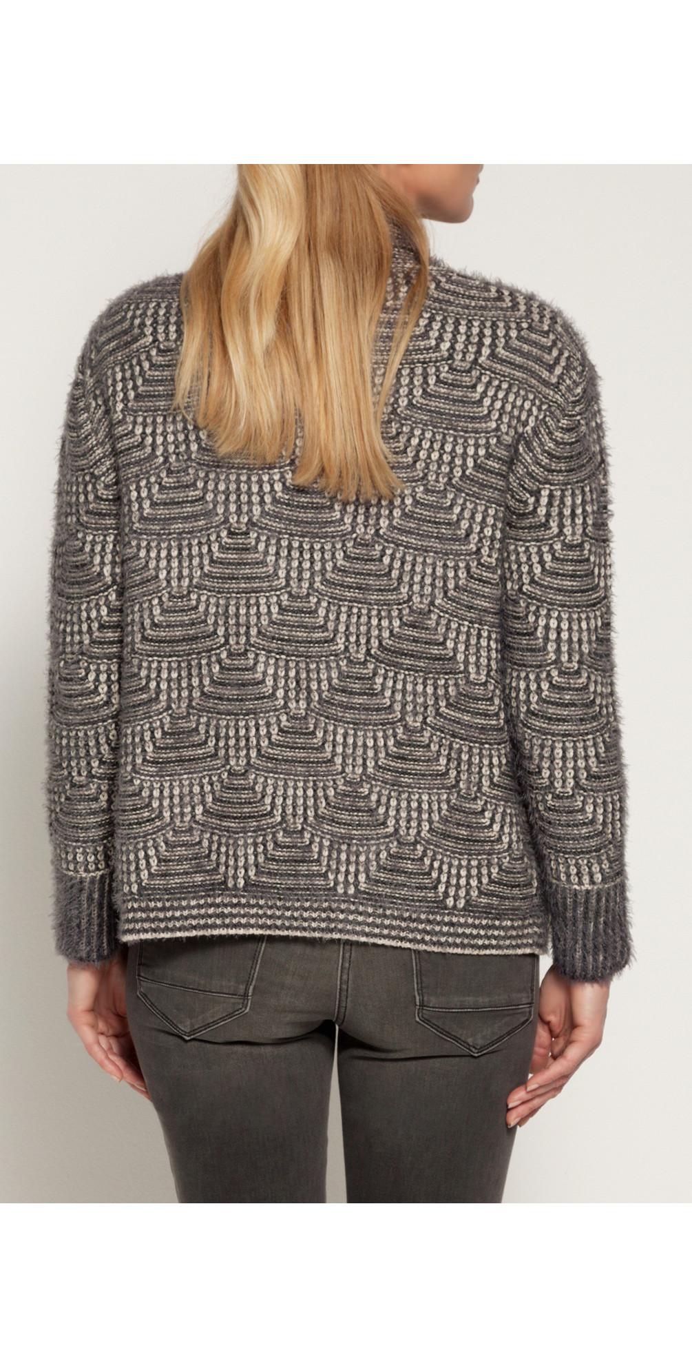 Furry Knit Cardigan main image