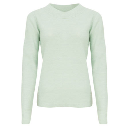 Sandwich Clothing Heather Rib Knit Pullover - White