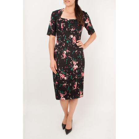 Great Plains Atomic Panelled Dress - Black