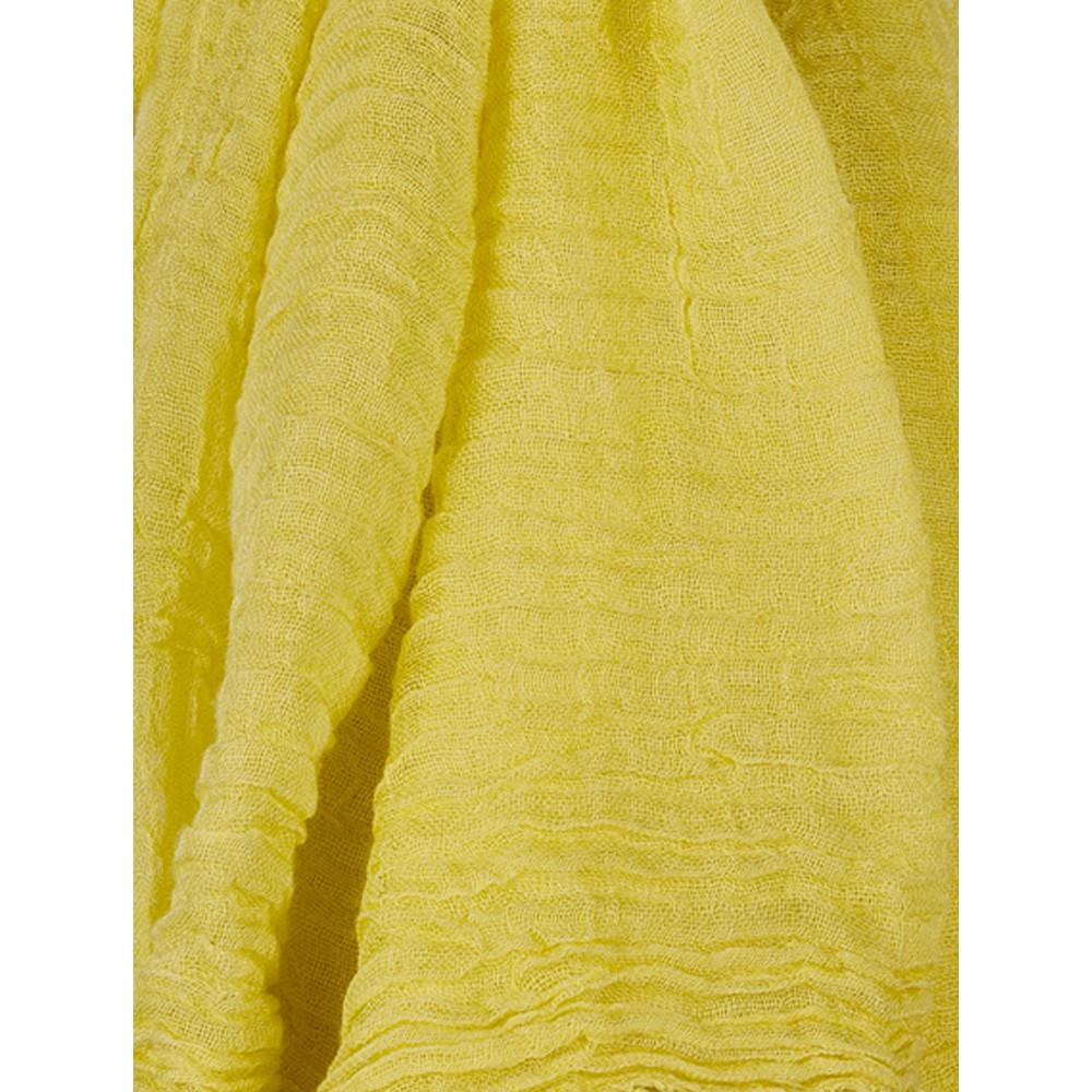 Sandwich Clothing Soft Viscose Scarf Warm Gold