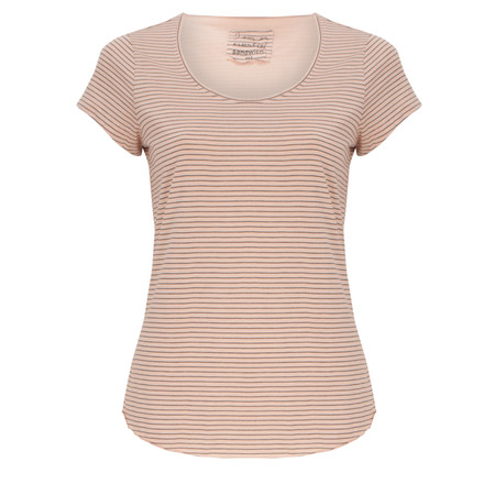 Sandwich Clothing Stripe Jersey Top - Pink
