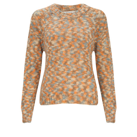 Sandwich Clothing Wool Mix Pullover - Orange