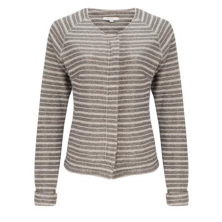 Sandwich Clothing French Terry Stripe Jacket - Grey