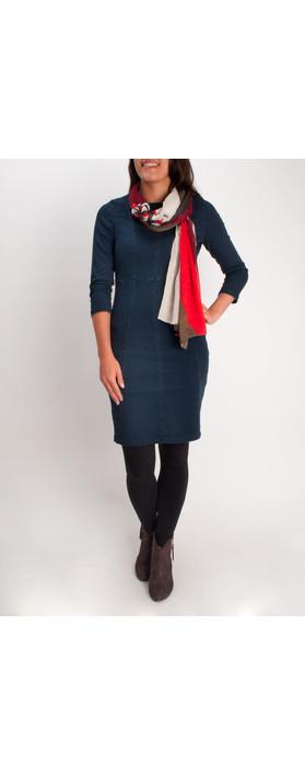 Sandwich Clothing Clean Denim Dress Indigo