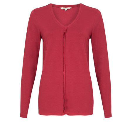 Sandwich Clothing Long Sleeve Top - Red