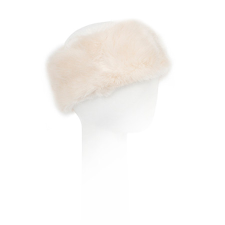 Pia Rossini Monroe Faux Fur Headband - Almond