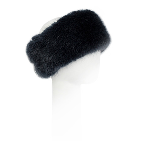 Pia Rossini Monroe Faux Fur Headband - Blue