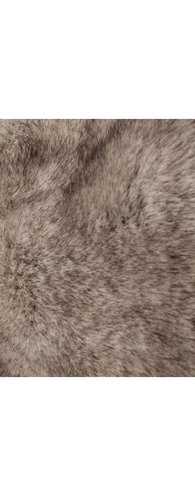 Pia Rossini Monroe Faux Fur Cuff Wolf