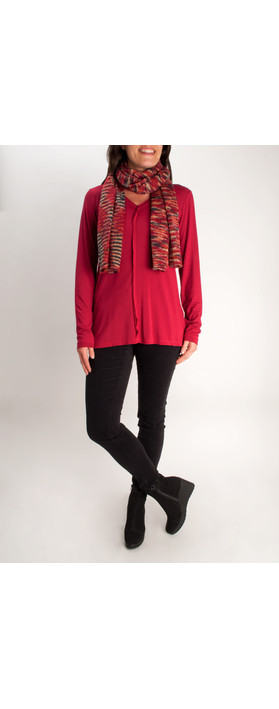 Sandwich Clothing Long Sleeve Top Rumba Red