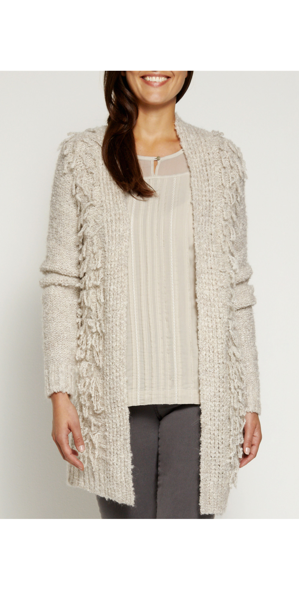 Wool Boucle Cardigan main image