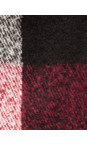 Checked Tassel Scarf additional image
