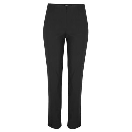 Robell Trousers Marie Bengalin Trouser - Black