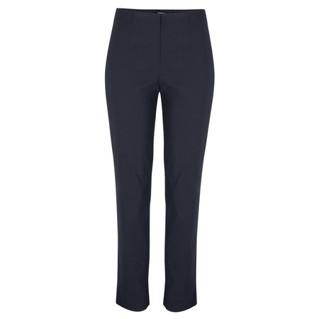 Robell Trousers Marie Bengalin Trouser - Blue
