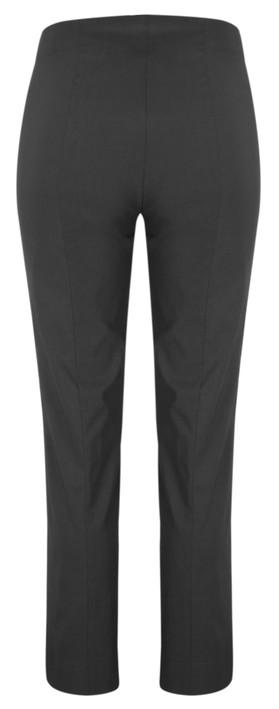 Robell Trousers Marie Bengalin Trouser Dark Grey