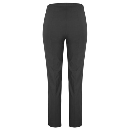 Robell Trousers Marie Bengalin Trouser - Grey