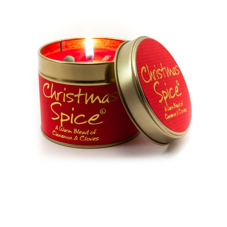 Lily-Flame Ltd. Christmas Spice Tin - Transparent