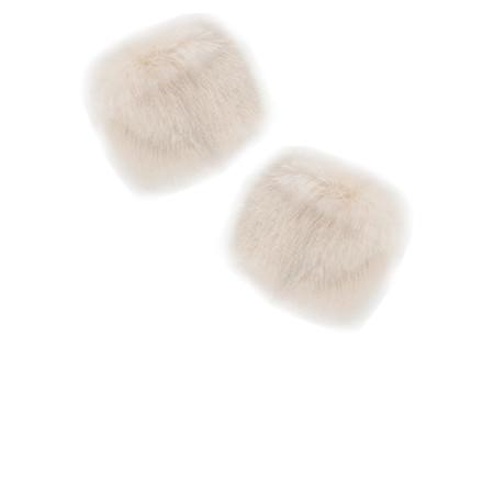 Pia Rossini Monroe Faux Fur Cuff - Brown