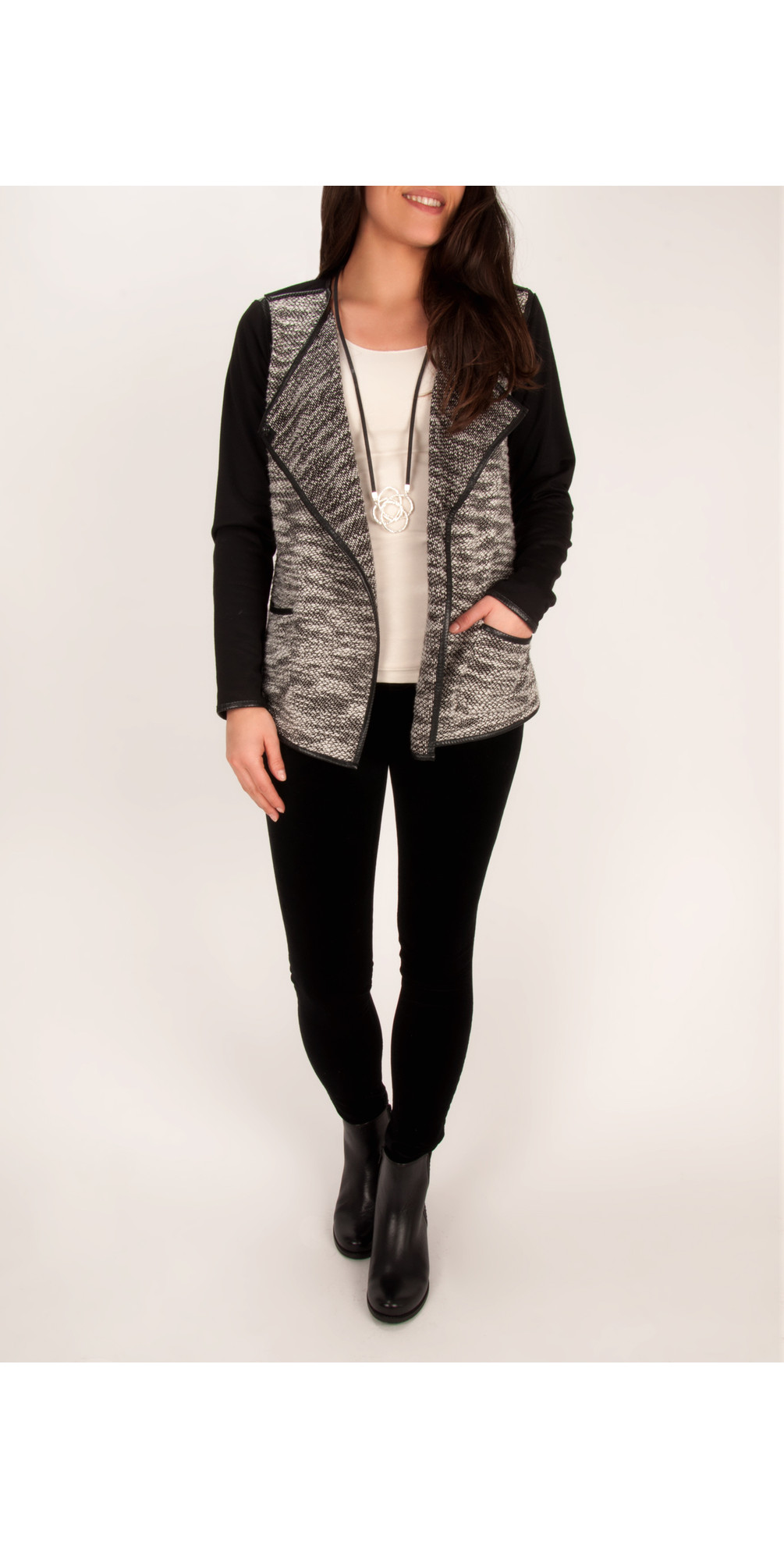 Structured Cotton Jacket main image
