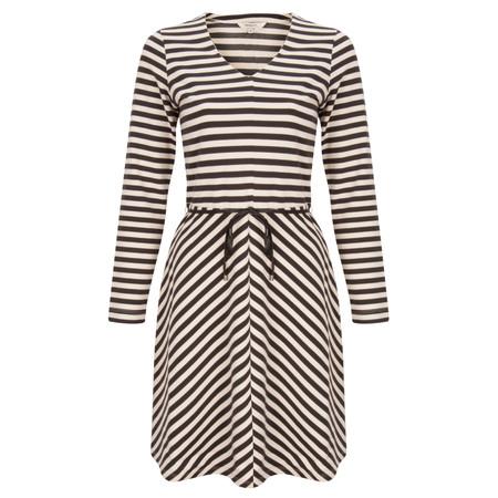 Sandwich Clothing Striped Milano Dress - White