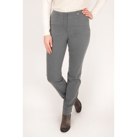 Robell Trousers Marie  Denim Jean A - Grey