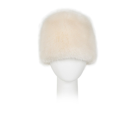 Pia Rossini Monroe Faux Fur Russian Hat - Almond