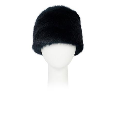 Pia Rossini Monroe Faux Fur Russian Hat - Blue