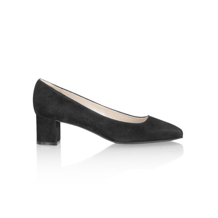 Gemini by GDF Lena Suede Shoe - Black