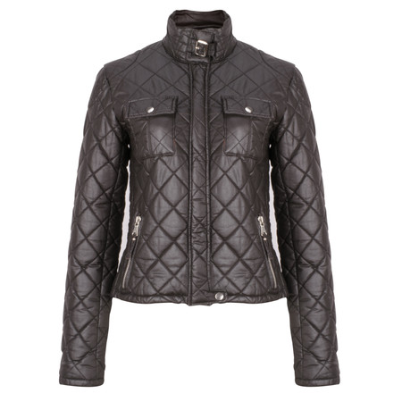 RINO AND PELLE Milo Waxed Jacket - Brown